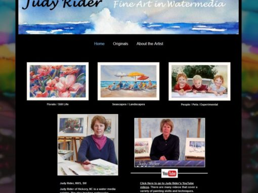 Judy Ryder – Watercolor Artist