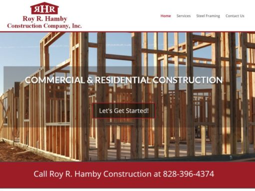 Roy R. Hamby Construction