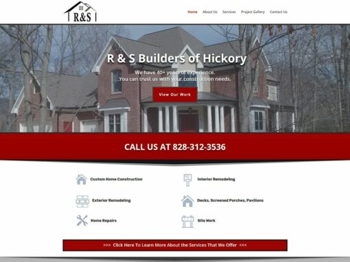 R & S Builders of Hickory
