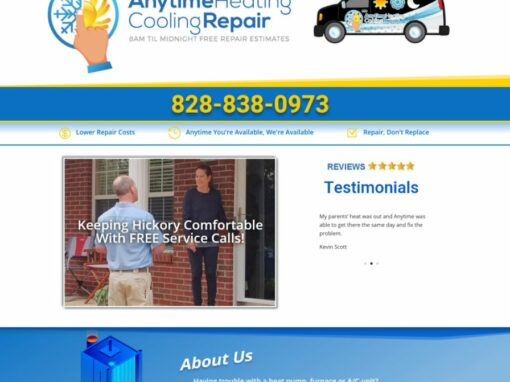Anytime Heating and Cooling Hickory NC
