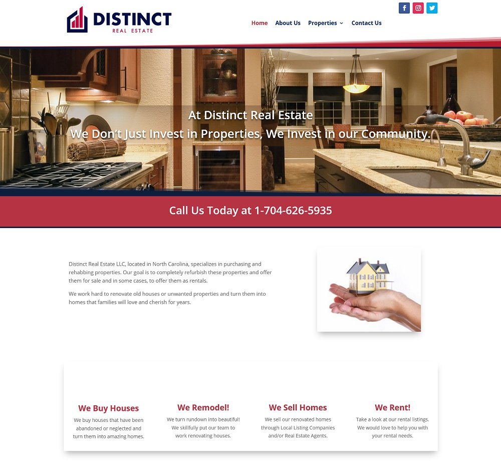 Website Design Hickory NC